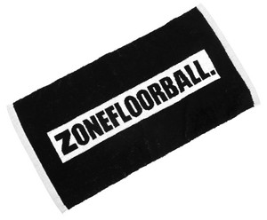 Zone floorball Towel SHOWERTIME black ručník