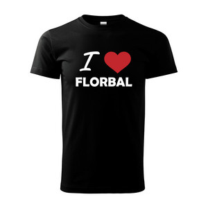Necy I LOVE FLORBAL T-shirt MAN T-shirt