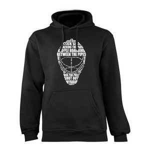 Necy WORLD OF GOALIE Sweatshirt Mikina