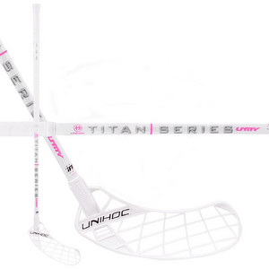 Unihoc UNITY TITAN Miracle Light 29 white Floorball stick