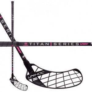 Unihoc UNITY TITAN Top Light II 26 black Florbalová hokejka