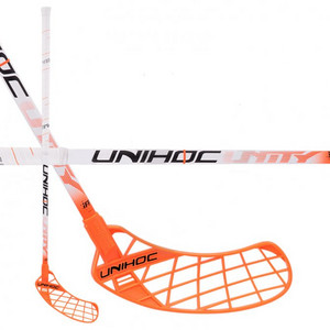 Unihoc UNITY Feather Composite 28 white Florbalová hokejka