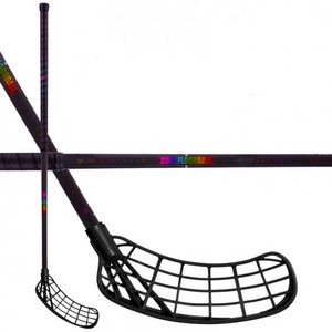 Zone floorball MAKER AIR Superlight 27 black/hologram Florbalová hokejka