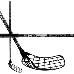 Zone floorball HYPER Composite Light 27 black Florbalová hokejka