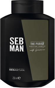 Sebastian Seb Man The Purist Shampoo Anti-dandruff Purifying Shampoo