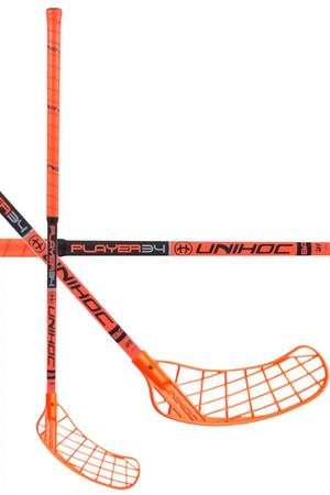 Unihoc PLAYER 34 neon orange/black Florbalka