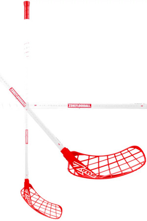 Zone floorball HYPER AIR SL 27 white/red (D+) Floorball Schläger