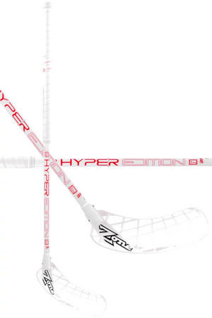 Zone floorball HYPER Composite Light 29 white/red Florbalová hokejka