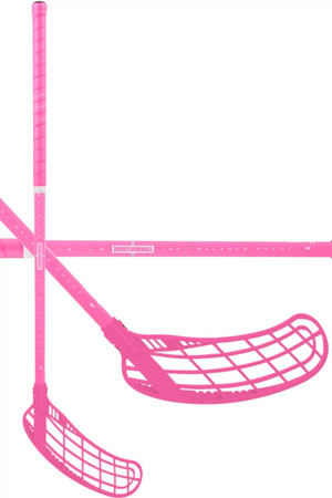 Zone floorball Force Air JR 35 all pink Florbalová hokejka