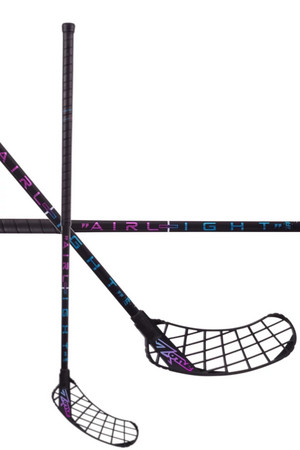 Zone floorball MONSTR AIRLIGHT 25 black/rainbow Florbalová hokejka