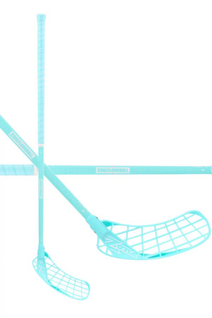 Zone floorball HYPER AIR SL Curve 2.0° 29 all turquoise Florbalová hokejka