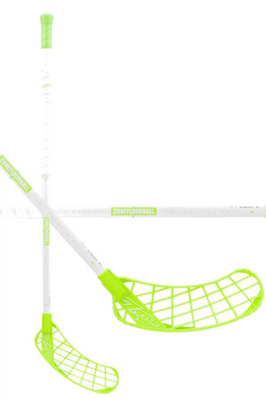 Zone floorball MONSTR AIR Curve 1.5° 31 white//green Florbalka