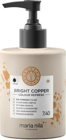 Maria Nila Colour Refresh Bright Copper 7.40 Nährende tonisierende Maske