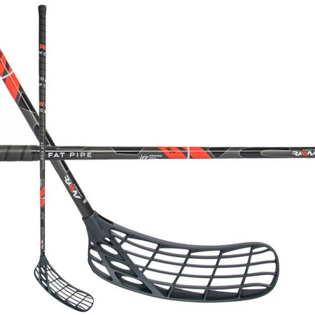 Fat Pipe Fat Pipe RAW CONCEPT 27 RED PE PWR Floorball stick