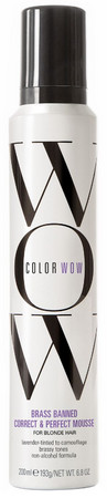 Color WOW Brass Banned Mousse For Blonde Hair tónovací pěna pro blond vlasy