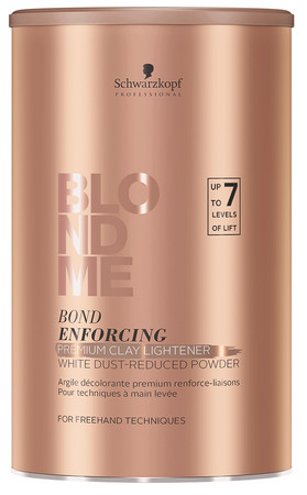 Schwarzkopf Professional BlondME Bond Enforcing Clay Lightener Claybasierte Blondierung