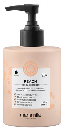 Maria Nila Colour Refresh Peach 9.34 Nährende tonisierende Maske