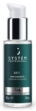 System Professional Man Hair & Beard Oil olej na vlasy a vousy