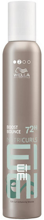 Wella Professionals EIMI Nutricurls Boost Bounce Volumenschaum für lockiges Haar