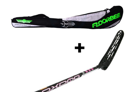 OxDog ZERO 31 + Stickbag Floorball stick and stickbag - set