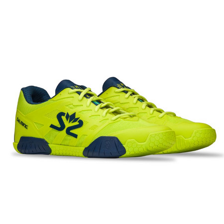 Salming Hawk 2 Shoe Men Fluo Green/Navy Halová obuv