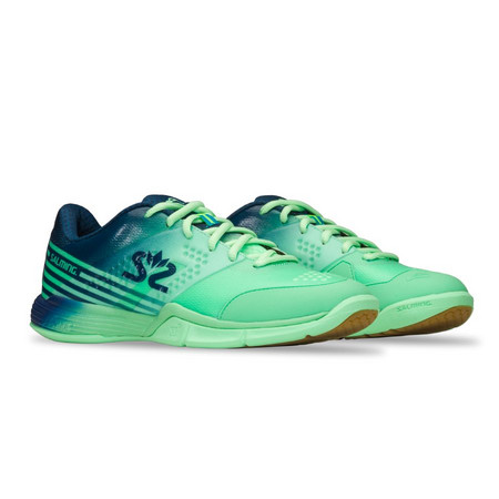 Salming Viper 5 Shoe Women Turquoise/Navy Indoor shoes
