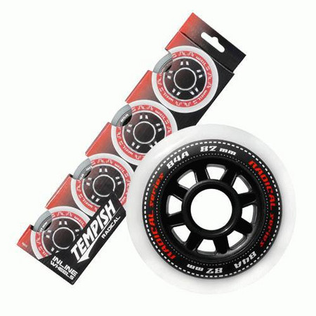 Tempish Radical 76x24mm 84A set Wheels