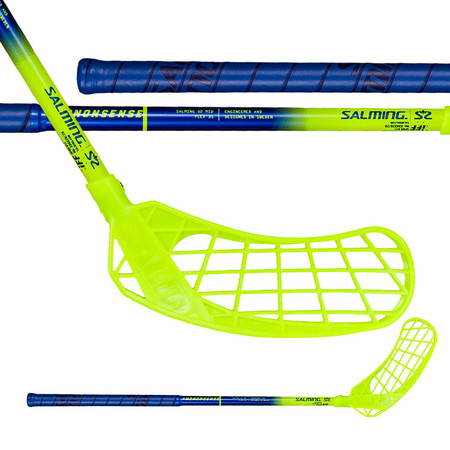 Salming Q2 Kids blue/yellow Floorball stick