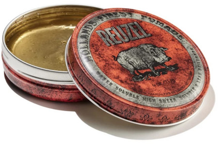 Reuzel Red Pomade Water Soluble High Sheen Hollands Finest Pomade High Sheen