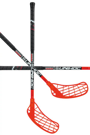 Unihoc NINO YOUNGSTER Composite 36 black/red Floorball schläger
