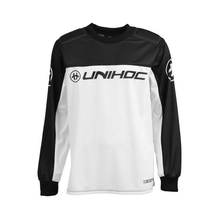 Unihoc KEEPER sweater black/white Goalkeeper jersey