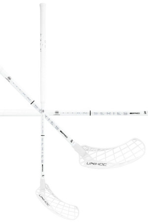 Unihoc EPIC TITAN SUPERSKIN PRO 26 white Floorball stick