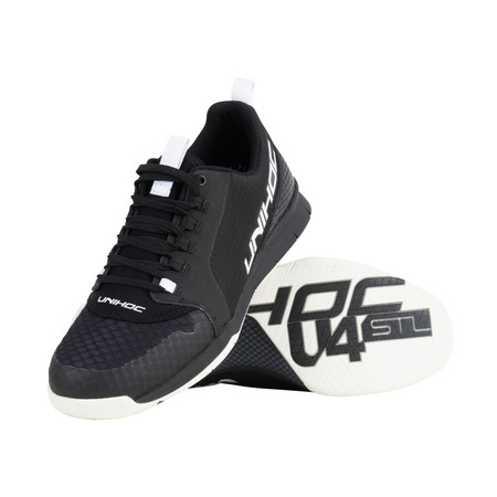 Unihoc Shoe U4 PLUS LowCut Men black Indoor shoes