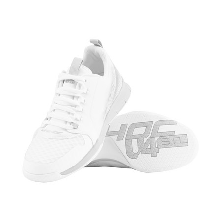 Unihoc Shoe U4 PLUS LowCut Women white/grey Indoor shoes