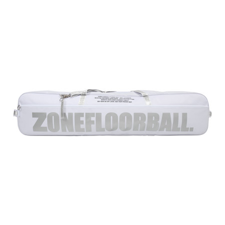Zone floorball Toolbag BRILLIANT+ white/silver (20 sticks) Toolbag