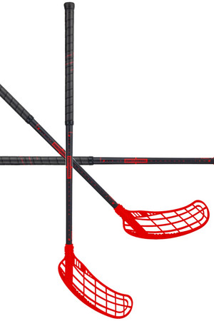 Zone floorball FORCE AIR JR 35 black/red Floorball stick