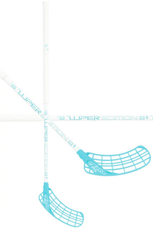 Zone floorball ZUPER Composite Light 29 white/turquoise Floorball stick