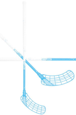 Zone floorball ZUPER AIR Light 31 white/ice blue Floorball stick