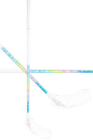 Zone floorball HYPER AIRLIGHT 28 holographic/white Florbalová hůl