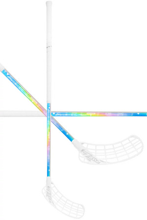 Zone floorball ZUPER AIRLIGHT 27 holographic/white Floorball stick