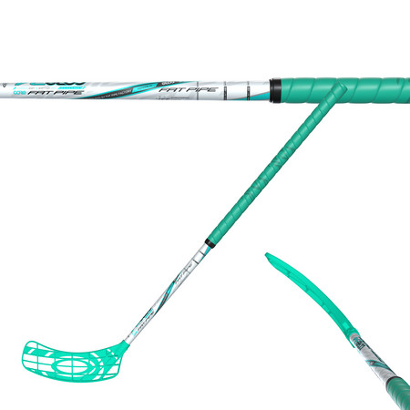 Fat Pipe CORE 34 CORAL GREEN JAI-ALAI Floorball stick