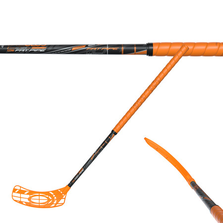 Fat Pipe CORE 34 ORANGE JAI-ALAI Floorball schläger