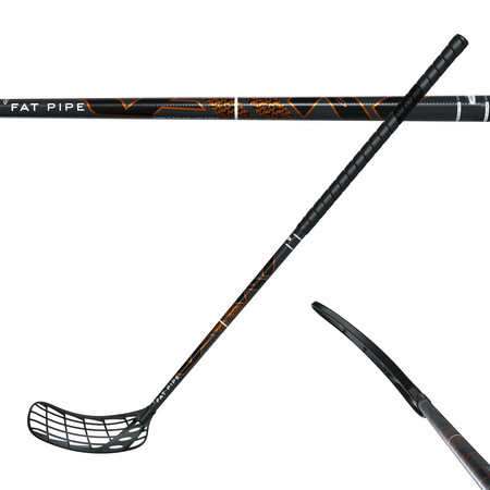 Fat Pipe RAW CONCEPT PWR REAL OVAL 27 Floorball stick