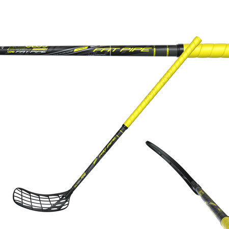 Fat Pipe CORE 31 YELLOW PWR Floorball stick