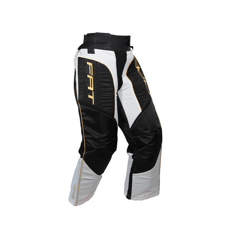 Fat Pipe GK-JUNIOR PANTS BLACK/GOLD Goalie Hosen