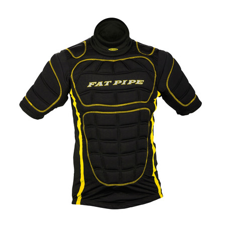 Fat Pipe GK-PROTECTIVE SHIRT BLACK Goalie Weste