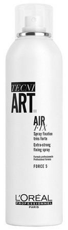 L'Oréal Professionnel Tecni.Art Air Fix Extra Strong Spray lak na vlasy so silnou fixáciou
