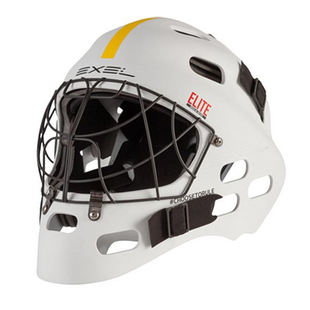 Exel ELITE HELMET white Goalie mask