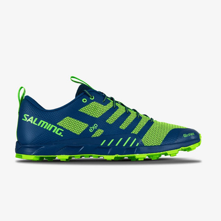 Salming OT Comp Men Poseidon Blue/Safety Yellow Running shoes