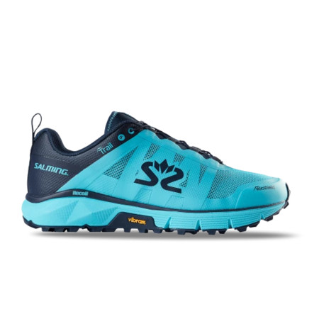 Salming Trail 6 Women Light Blue/Navy Běžecká obuv